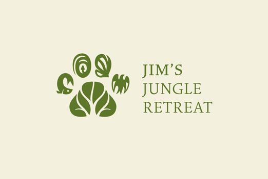 Jim's Jungle Retreat logo